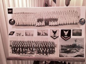 Veteran William McCartney's Chevrons and group photos