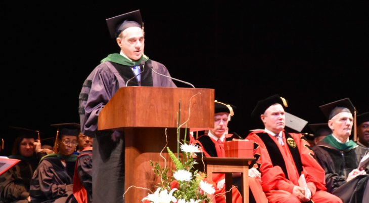 Shulkin to Class of '17: Now is the time to consider how you can make a difference