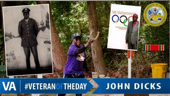 John Dicks - Veteran of the Day