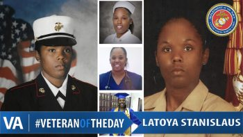 Veteran of the Day LaToya Stanislaus