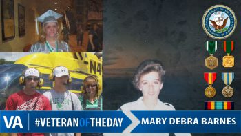 Mary Debra Barnes - Veteran of the Day