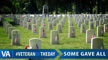 Memorial Day - Veteran of the Day