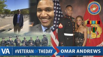Veteran of the Day Omar Andrews