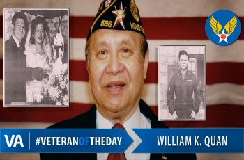 Veteran of the Day William K. Quan