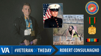 Robert Consulmagno - Veteran of the Day