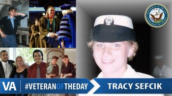 Veteran of the Day Tracy Sefcik