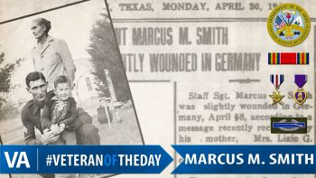 Veteran of the Day Marcus Smith