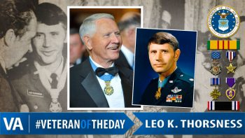 Veteran of the Day Leo Thorsness.
