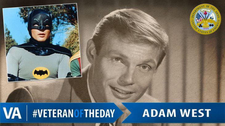 Adam West - Veteran of the Day