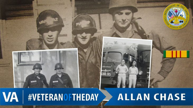 #VeteranOfTheDay Army Veteran Allan Chase