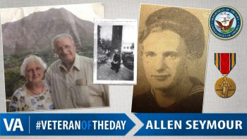 Allen Seymour - Veteran of the Day