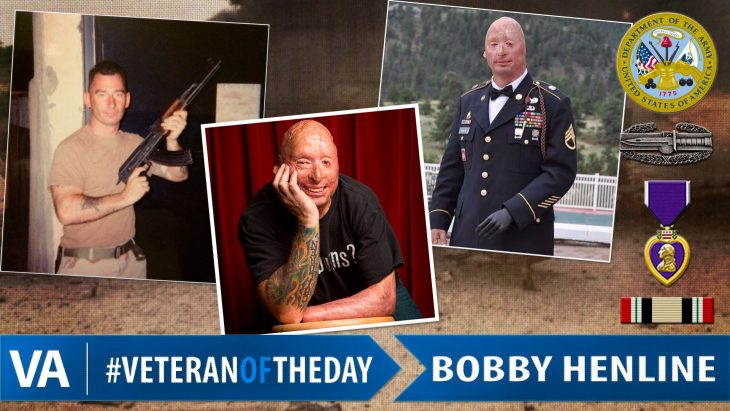 Bobby Henline - Veteran of the Day