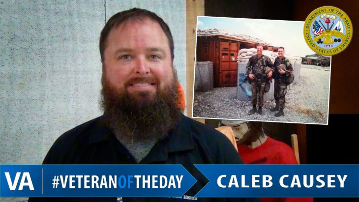 Caleb Causey - Veteran of the Day