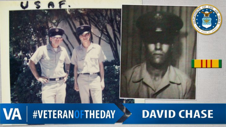 #VeteranOfTheDay Air Force Veteran David Chase