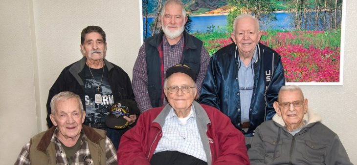 A group of older Salt Lake City Veterans use their years of experience to help younger generations