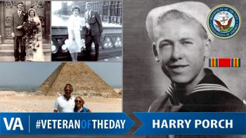 Harry Porch - Veteran of the Day