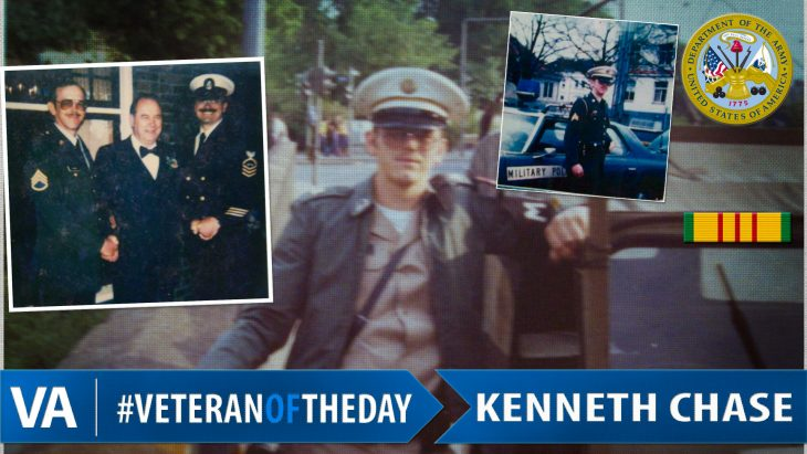 #VeteranOfTheDay Army Veteran Kenneth Chase