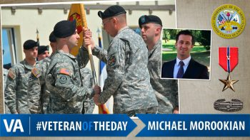 Michael Morookian - Veteran of the Day