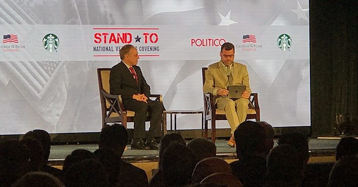 #StandTo: Secretary Shulkin joins the Bush Center for national Veterans convening