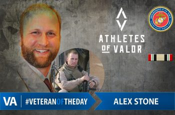 Alex Stone - Veteran of the Day