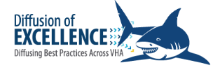 IMAGE: Diffusion of Excellence logo depicting a shark
