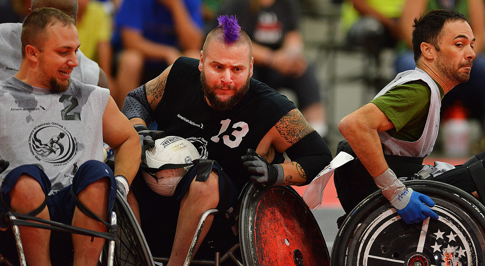veterans compete in national wheelchair games vantage point