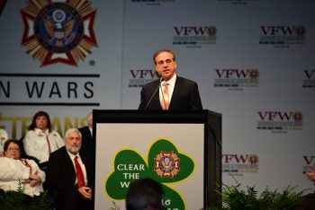 Sec. Shulkin speaks to the VFW 118th National Convention.