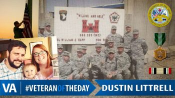 Dustin Littrell - Veteran of the Day