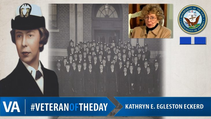 Image: Kathryn E. Egleston Eckerd - Veteran of the Day