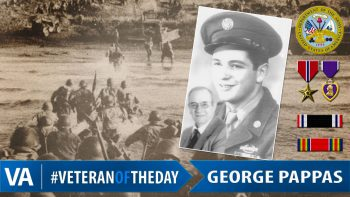 George Pappas - Veteran of the Day