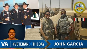 John Garcia - Veteran of the Day