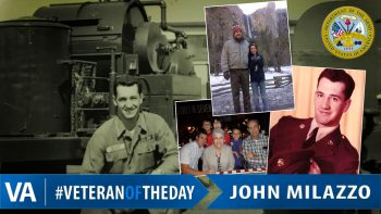 John Milazzo - Veteran of the Day