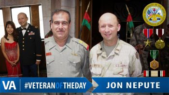 Jon Nepute - Veteran of the Day
