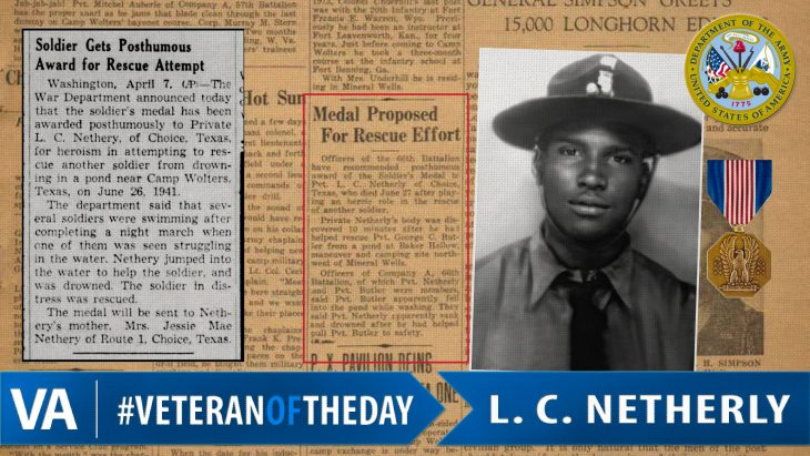 L. C. Netherly - Veteran of the Day
