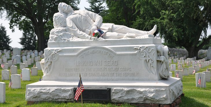 Image: The Loudon Park monumont to the unnknown dead