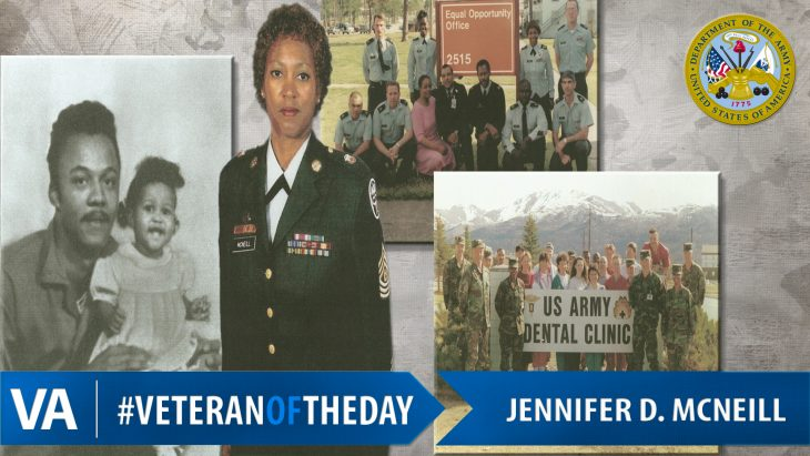 #VeteranOfTheDay Jennifer McNeill