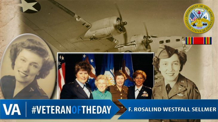 VeteranOfTheDay F. Rosalind Westfall Sellmer