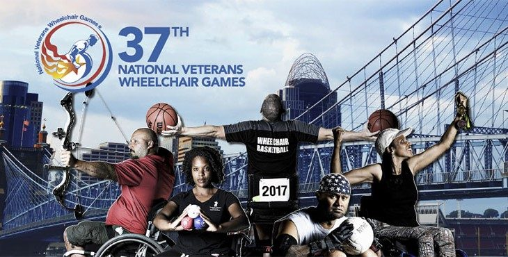 Image: 37th National Veterans Wheelchair Games collage