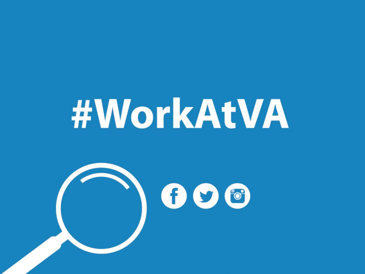 Want to know what it's like to care for Veterans? Start by following the hashtag #WorkAtVA.