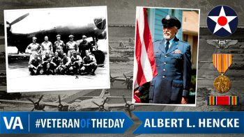 Albert L. Hencke - Veteran of the Day