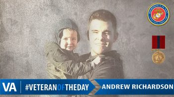 Andrew Richardson - Veteran of the Day