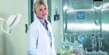 IMAGE: Anna McKee in her lab