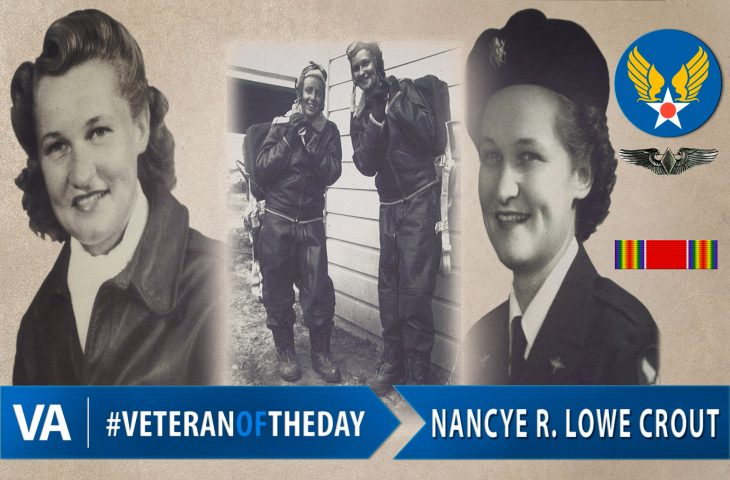 #VeteranOfTheDay Air Force Veteran Nancye Crout