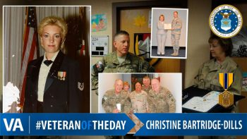 Christine Bartridge-Dills - Veteran of the Day