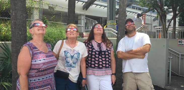 Veterans, family members encouraged to use caution when viewing solar eclipse