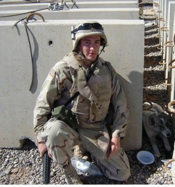 Ilya Berler 2006 while deployed with the U.S. Army in support of Operation Iraqi Freedom.