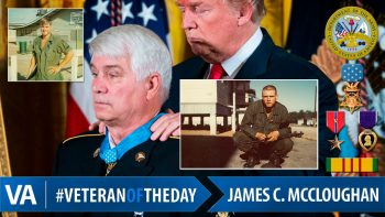 James C. McCloughan - Veteran of the Day