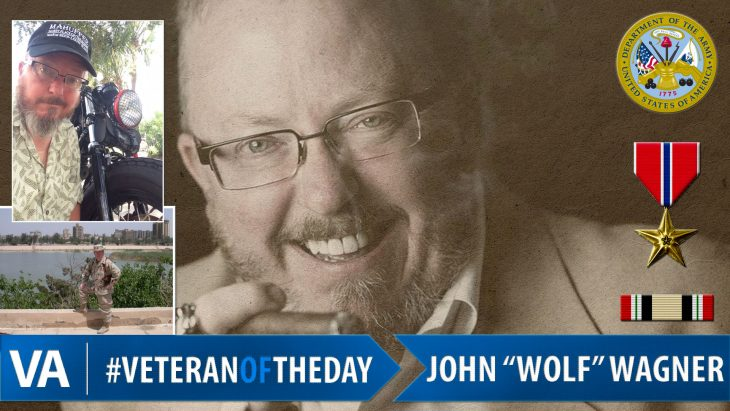 "John ""Wolf"" Wagner - Veteran of the Day"
