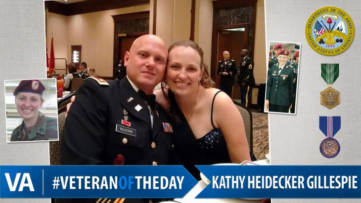 Kathy Heidecker Gillespie - Veteran of the Day