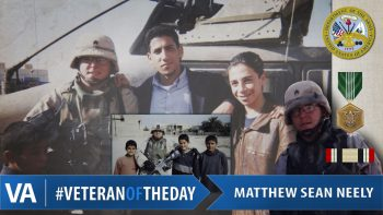 Matthew Sean Neely - Veteran of the Day